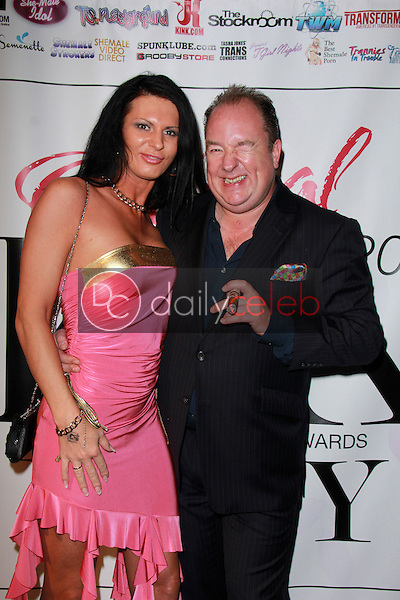 Lina Cavalli, Steven Grooby<br /> at the 2015 Transgender Erotica Awards Official After Party, Bardot, Hollywood, CA 02-16-15<br /> David Edwards/DailyCeleb.Com 818-249-4998