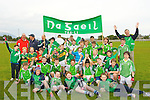 YOUNG: The future footballers of Na Gaeil  gathered at Na gaeil GAA ground, Kileen Tralee to show thier support for the  Senior Football of Na Gaeil and to wish them all the best in next Saturdays final in Killarney against Kenmare.