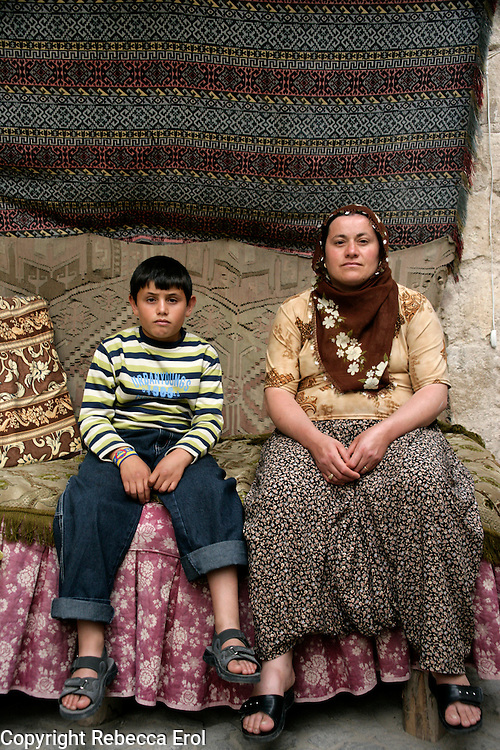 Locals in Goreme village, Cappadocia, Turkey