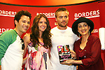 """JasonTam, Brittany Underwood, John-Paul Underwood, Robin Strasser will be reading passages Red Carpet Riot by """"David Van Etten"""" who is actually three writters: Emmy-winning OLTL scribe Chris Van Etten and his friends David Levithan and David Ozanich on August 15, 2009 at Borders, Time Warner Center Mall, New York City, New York. (Photo by Sue Coflin/Max Photos)"""