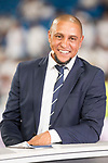 Real Madrid's Roberto Carlos during XXXVIII Santiago Bernabeu Trophy at Santiago Bernabeu Stadium in Madrid, Spain August 23, 2017. (ALTERPHOTOS/Borja B.Hojas)
