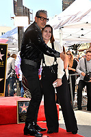 Jeff Goldblum &amp; Ana Martinez at the Hollywood Walk of Fame Star Ceremony honoring actor Jeff Goldblum, Los Angeles, USA 14 June 2018<br /> Picture: Paul Smith/Featureflash/SilverHub 0208 004 5359 sales@silverhubmedia.com