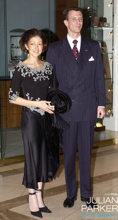 Prince Joachim & Princess Alexandra of Denmark attend a Return Arrangement at the Marriott Hotel in Copenhagen during the State Visit of H.E Mr Ion Iliescu, The President of Romania..
