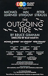 Billboard Poster for the Off- Broadway Opening Night Performance Curtain Call for the Delaware Theatre Company Production of 'The Outgoing Tide'  at 59E59 Theatre in New York City on 11/20/2012.