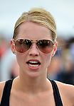 MIAMI BEACH, FLORIDA - APRIL 03: Actress Claire Holt Takes Part In Life Time South Beach Triathlon benefiting the St. Jude Children Hospital at Lummus Park on Sunday April 3, 2016 in Miami Beach, Florida. ( Photo by Johnny Louis / jlnphotography.com )