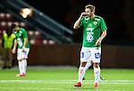 S&ouml;dert&auml;lje 2015-10-05 Fotboll Superettan Syrianska FC - J&ouml;nk&ouml;pings S&ouml;dra :  <br /> J&ouml;nk&ouml;ping S&ouml;dras Fredrik Olsson deppar under matchen mellan Syrianska FC och J&ouml;nk&ouml;pings S&ouml;dra <br /> (Foto: Kenta J&ouml;nsson) Nyckelord:  Syrianska SFC S&ouml;dert&auml;lje Fotbollsarena J&ouml;nk&ouml;ping S&ouml;dra J-S&ouml;dra depp besviken besvikelse sorg ledsen deppig nedst&auml;md uppgiven sad disappointment disappointed dejected