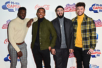 LONDON, UK. December 08, 2018: Rak-Su at Capital's Jingle Bell Ball 2018 with Coca-Cola, O2 Arena, London.<br /> Picture: Steve Vas/Featureflash