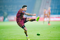 Picture by Allan McKenzie/SWpix.com - 15/03/2018 - Rugby League - Betfred Super League - Huddersfield Giants v Hull KR - John Smith's Stadium, Huddersfield, England - Danny Brough kicks a conversion.