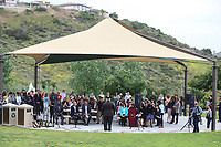 May 3 2019. Carlsbad, CA. |  The Community Call to Action Led by Community Leaders and Local Elected Officials in Response to Poway Shooting held at Alga Norte Community Park in Carlsbad. | Photos by Jamie Scott Lytle. Copyright.