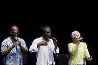 July 8, 2012- Rome, Italy: Bobby McFerrin in concert at all'Auditorium. Credit: Cristiano Minichiello / AGF / MediaPunch Inc. ***NO ITALY***