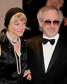 Steven Spielberg and Kate Capshaw arrive at the Washington Hilton Hotel for the 2010 White House Correspondents Association Annual Dinner in Washington, D.C. on Saturday, May 1, 2010..Credit: Ron Sachs / CNP.(RESTRICTION: NO New York or New Jersey Newspapers or newspapers within a 75 mile radius of New York City)