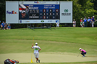 Rory McIlroy (NIR) lines up his birdie putt on 8 during round 3 of the WGC FedEx St. Jude Invitational, TPC Southwind, Memphis, Tennessee, USA. 7/27/2019.<br /> Picture Ken Murray / Golffile.ie<br /> <br /> All photo usage must carry mandatory copyright credit (© Golffile | Ken Murray)