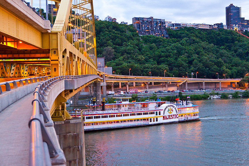 Pittsburgh's Majestic - The Queen of the Gateway Clipper fleet
