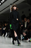 Catwalk<br /> at the Fyodor Golan AW17 show as part of London Fashion Week AW17 at 180 Strand, London.<br /> <br /> <br /> ©Ash Knotek  D3230  17/02/2017