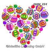 Kate, CHRISTMAS SYMBOLS, WEIHNACHTEN SYMBOLE, NAVIDAD SÍMBOLOS, paintings+++++Christmas page 85 #,GBKM224,#xx# ,hearts