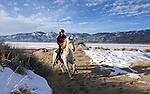 Washoe horseback rider