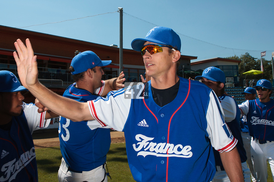 20 August 2010: Team Manager Boris Rothermundt is seen prior to France 6-5 win over Italy, at the 2010 European Championship, under 21, in Brno, Czech Republic.