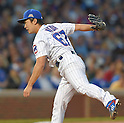 Tsuyoshi Wada (Cubs),<br /> JULY 28, 2014 - MLB : Chicago Cubs starting pitcher Tsuyoshi Wada pitches during the Major League Baseball game against the Colorado Rockies at Wrigley Field in Chicago, USA.<br /> (Photo by AFLO)