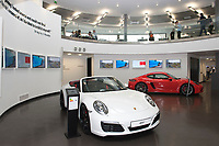 Guests enjoying the Corinthian Sports hospitality in the Porsche Experience Centre during the British Grand Prix final qualifying sessions at Silverstone on Saturday 15th July 2017 (Photo by Rob Munro/Stewart Communications)