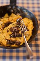 Europe/France/Aquitaine/24/Dordogne/Trémolat: Omelette aux cèpes, recette du restaurant: Le Bistrot d'en face