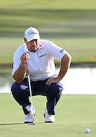 24 JAN 13  South African Brendon de Jonge during Thursdays First Round action  at The Farmers Insurance Open at Torrey Pines Golf Course in La Jolla, California. (photo:  kenneth e.dennis / kendennisphoto.com)