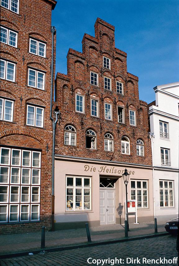 Deutschland, Lübeck, Heilsarmee, Unesco-Weltkulturerbe