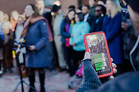 Durham City leaders held a press conference at city hall in Durham, North Carolina Thursday, November 29, 2018  to give updates about Samuel Oliver-Bruno, a Mexican immigrant who has lived in sanctuary in Durham for the past 11 months. Samuel was lured out of sanctuary and arrested by ICE agents. (Justin Cook)