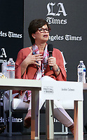 13 April 2019 - Los Angeles, California - Valerie Jarrett. 2019 Los Angeles Times Festival Of Books held at University of Southern California.  <br /> CAP/ADM/FS<br /> ©FS/ADM/Capital Pictures