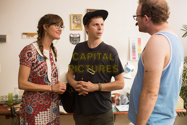 Erinn Hayes, Michael Cera, James Adomian<br /> in Hits (2014) <br /> *Filmstill - Editorial Use Only*<br /> CAP/NFS<br /> Please credit: Courtesy of Sundance Institute/Capital Pictures