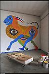 I muri e gli spazi di BUNKER, Il nuovo progetto di Urbe nell'ex stabilimento SICMA Torino. Settembre 2012