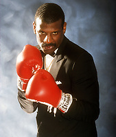 Michael Spinks, 1981, Photo By John Barrett/PHOTOlink