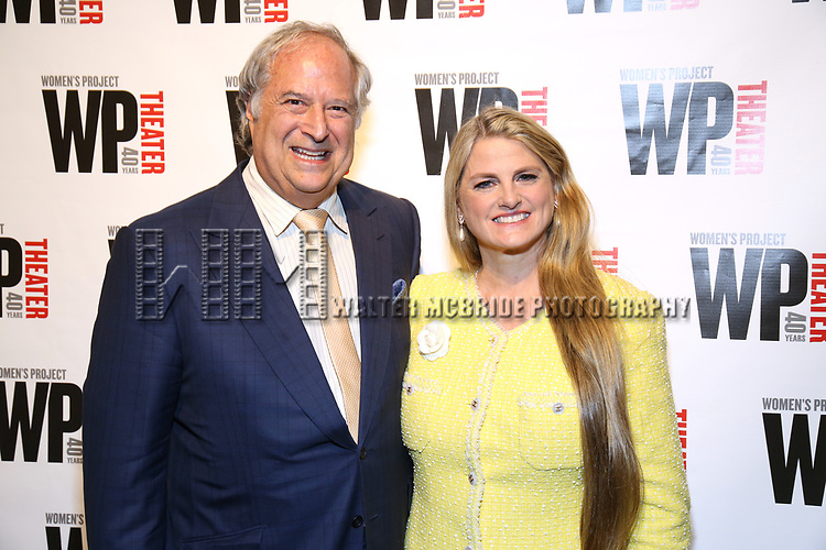 Stewart F. Lane and Bonnie Comley attends the WP Theater's 40th Anniversary Gala -  Women of Achievement Awards at the Edison Hotel on April 15, 2019  in New York City.