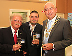 Nico Brink, Jacopo Fantaneto and Padraic Kierans at the Civic Reception for the Florale Judges in the Tholsel Tourist Office..Picture: Shane Maguire / www.newsfile.ie.