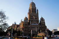 An ornate building in central Mumbai, India. Photo by Suzanne Lee