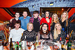 Mountain Warehouse Tralee enjoying their Christmas party in Ristorante Uno on Saturday night,<br /> Seated l-r, Gary Howard, Karen, Clodagh and Eve Roche.<br /> Back l-r, Jack Hobbert, Chad McDaid, Ryan Ward, Bernie Egan, Michelle Manns and Maeve Carmody.