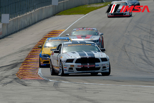 8-10 August  2014, Elkhart Lake, Wisconsin USA<br /> 78, Mustang, Boss 302 R, GS, Lucas Bize, David Levine<br /> &copy;2014, Richard Dole<br /> LAT Photo USA for IMSA