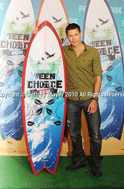 UNIVERSAL CITY, CA. - August 08: Alex Meraz  arrives at the 2010 Teen Choice Awards at Gibson Amphitheatre on August 8, 2010 in Universal City, California.