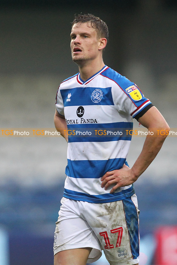 Matt Smith of QPR during Queens Park Rangers vs Birmingham City, Sky Bet EFL Championship Football at Loftus Road Stadium on 9th February 2019