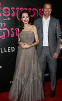 www.acepixs.com<br /> <br /> September 14 2017, New York City<br /> <br /> Director Angelina Jolie and Netfilx producer Scott Stuber arriving at a screening of 'First They Killed My Father' at the DGA theatre on September 14, 2017 in New York City.<br /> <br /> By Line: Nancy Rivera/ACE Pictures<br /> <br /> <br /> ACE Pictures Inc<br /> Tel: 6467670430<br /> Email: info@acepixs.com<br /> www.acepixs.com