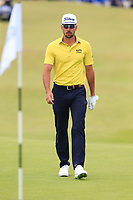 Rafa Cabrera-Bello (ESP) walks onto the 18th green during Sunday's Final Round of the Dubai Duty Free Irish Open 2019, held at Lahinch Golf Club, Lahinch, Ireland. 7th July 2019.<br /> Picture: Eoin Clarke | Golffile<br /> <br /> <br /> All photos usage must carry mandatory copyright credit (© Golffile | Eoin Clarke)
