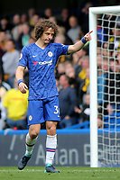 David Luiz of Chelsea during Chelsea vs Watford, Premier League Football at Stamford Bridge on 5th May 2019