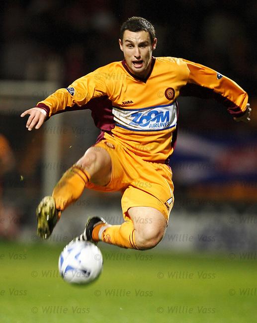 Scott McDonald, Motherwell.stock season 2005-2006.pic willie vass