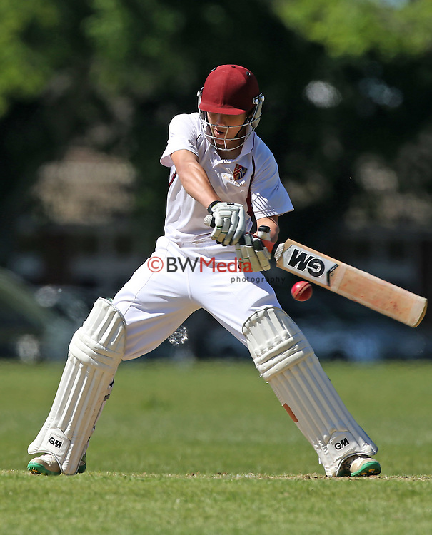 Kings College Colts Cricket v St Peters, Kings College, New Zealand, Thursday 5th August 2015. Photo: Simon Watts/ www.bwmedia.co.nz <br /> All images &copy; BWMedia.co.nz