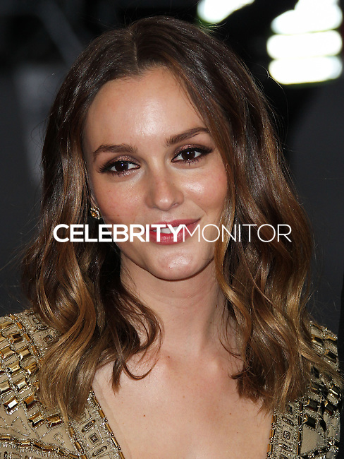 "NEW YORK CITY, NY, USA - MAY 05: Leighton Meester at the ""Charles James: Beyond Fashion"" Costume Institute Gala held at the Metropolitan Museum of Art on May 5, 2014 in New York City, New York, United States. (Photo by Xavier Collin/Celebrity Monitor)"