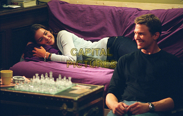 KATIE HOLMES & MARC BLUCAS .in First Daughter.*Editorial Use Only*.www.capitalpictures.com.sales@capitalpictures.com.Supplied by Capital Pictures.