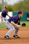 10 March 2006: Brendan Harris, infielder for the Washington Nationals, watches the pitch during a Spring Training game against the Houston Astros. The Astros defeated the Nationals 8-6 at Osceola County Stadium, in Kissimmee, Florida...Mandatory Photo Credit: Ed Wolfstein..