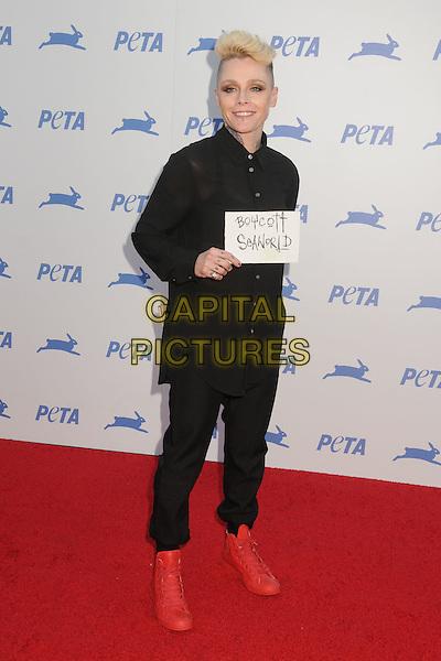 30 September 2015 - Hollywood, California - Otep Shamaya. PETA 35th Anniversary Gala held at the Hollywood Palladium. <br /> CAP/ADM/BP<br /> &copy;BP/ADM/Capital Pictures