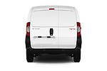 Straight rear view of a 2017 Citroen Nemo Business 4 Door Car van stock images