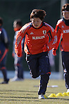 Aya Miyama (JPN), FEBRUARY 11, 2012 - Football / Soccer : Nadeshiko Japan team training Wakayama camp at Kamitonda Sports Center in Wakayama, Japan. (Photo by Akihiro Sugimoto/AFLO SPORT) [1080]