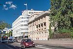 Gdynia, (woj. pomorskie) 21.07.2016. Ulica 10 Lutego, reprezentacyjna ulica Śródmieścia Gdyni.